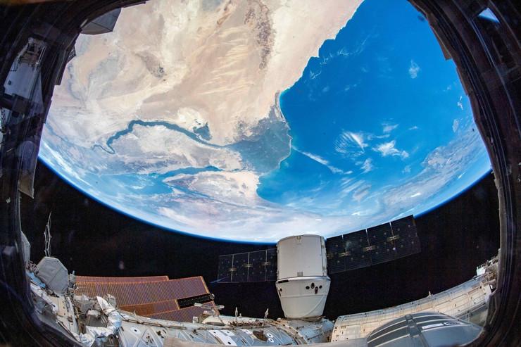 Pogled na Nil iz svemira