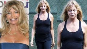 Masakra! 66-letnia Goldie Hawn bez makijażu. Co jej się stało?