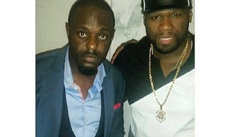 Jim Iyke and 50 Cent