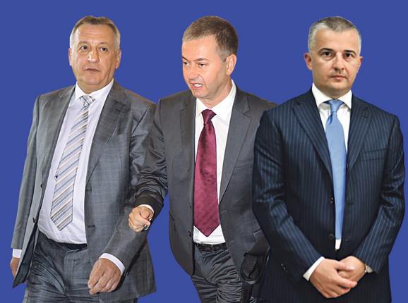 Miroslav Bogićević, GoranPerčević i Željko Žunić