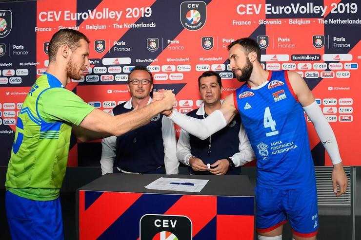 Odbojkaška reprezentacija Srbije, odbojkaška reprezentacija Slovenije