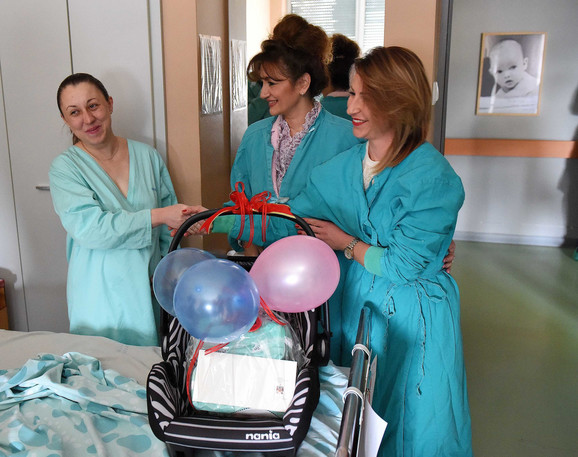 Prva beba u 2018. u Kragujevcu - Teodor