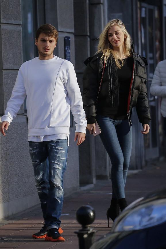 Adem Ljajic i Sofija MIlosević