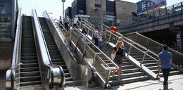 Ruchome schody na dworcu znów nie działają