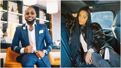 Nigerians are wilding out on Twitter following Davido's loved up photos with IG model Mya Yafai