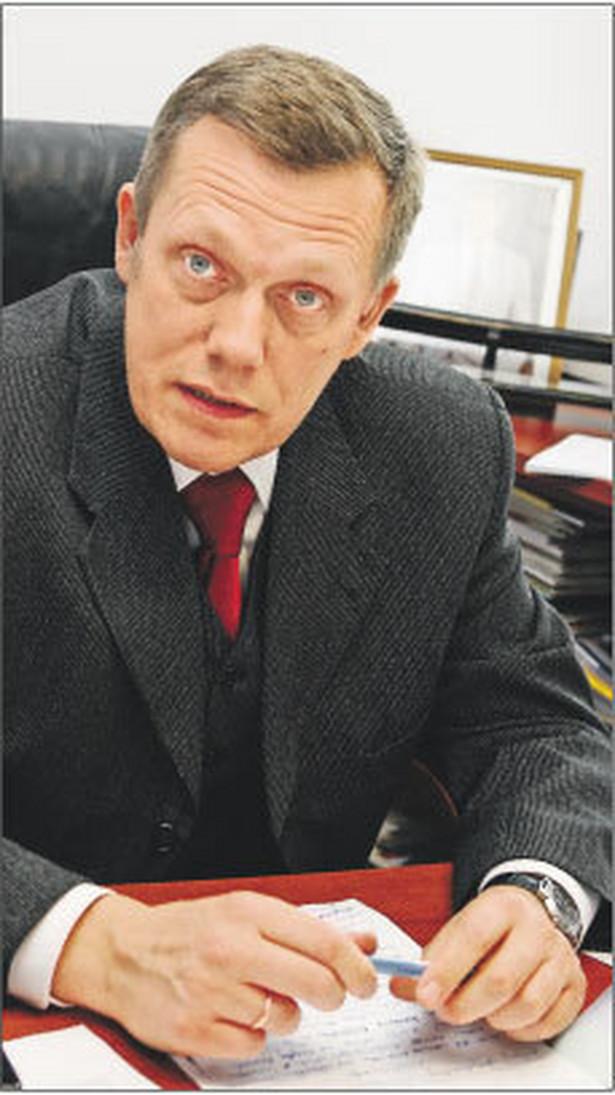 Jarosław Adamkiewicz, prezes Stowarzyszenia Agencji Zatrudnienia Fot. Wojciech Górski