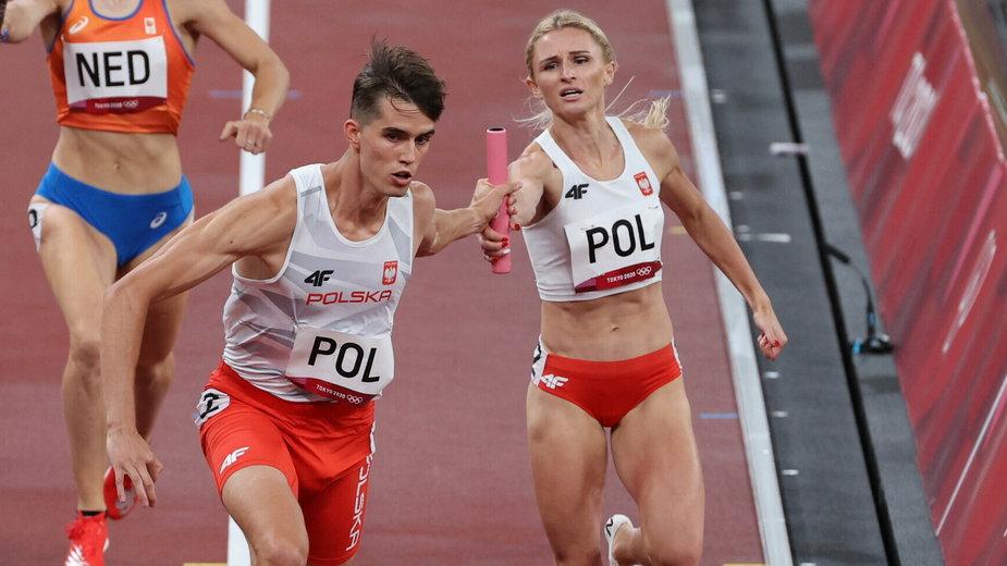 Kajetan Duszyński i Małgorzata Hołub-Kowalik
