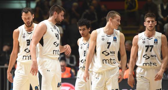 Košarkaši Partizana dočekuju Zadar u