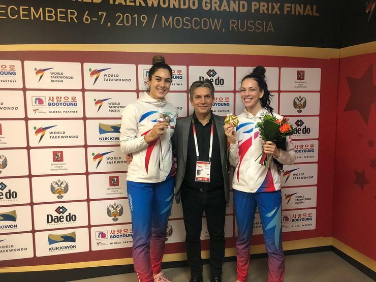 Milica Mandić, Dragan Jović i Tijana Bogdanović