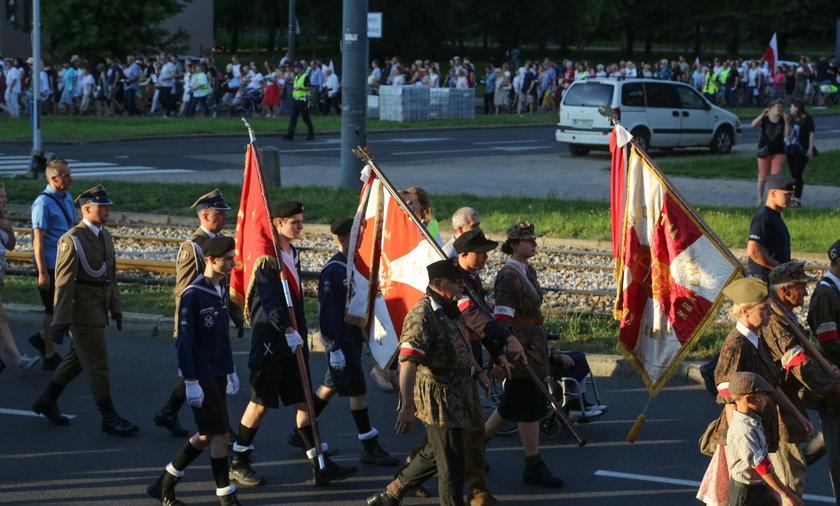 Marsz Pamięci Cywilnych Ofiar Powstania Warszawskiego w rocznicę rzezi Woli.