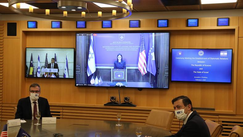 Nawiązanie stosunków dyplomatycznych Izraela z Kosowem