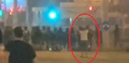 Śmierć demonstranta w Mińsku. Bloger opublikował nagranie. Drastyczny FILM
