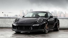 Porsche 911 Turbo S po tuningu - jest moc!