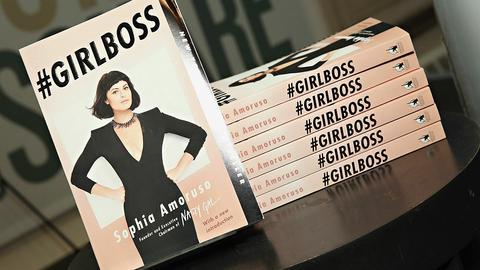 """Książka Sophii Amoruso, założycielki Nasty Gal, """"#GIRLSBOSS"""""""