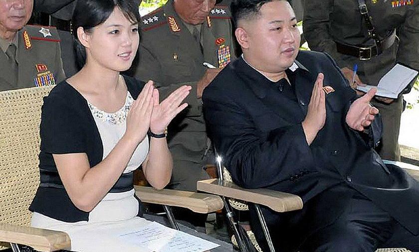 Kim Jong-Un i Ri Sol-Ju