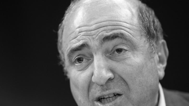 """Rosyjski """"Forbes"""": Bieriezowski stracił sens życia"""