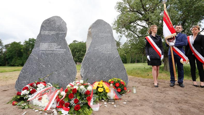 Pomnik w Chorabiu pod Toruniem