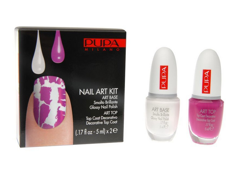 """Pupa Nail Art Kit ma dawać efekt """"popękanych"""" paznokci"""