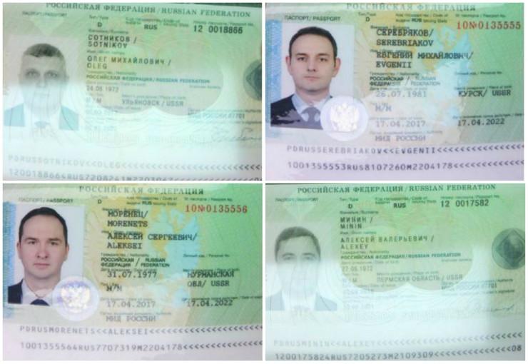 Ruski hakeri agenti kolaž