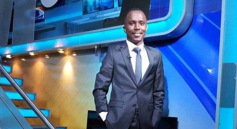 Citizen TV journalist Kimani Mbugua