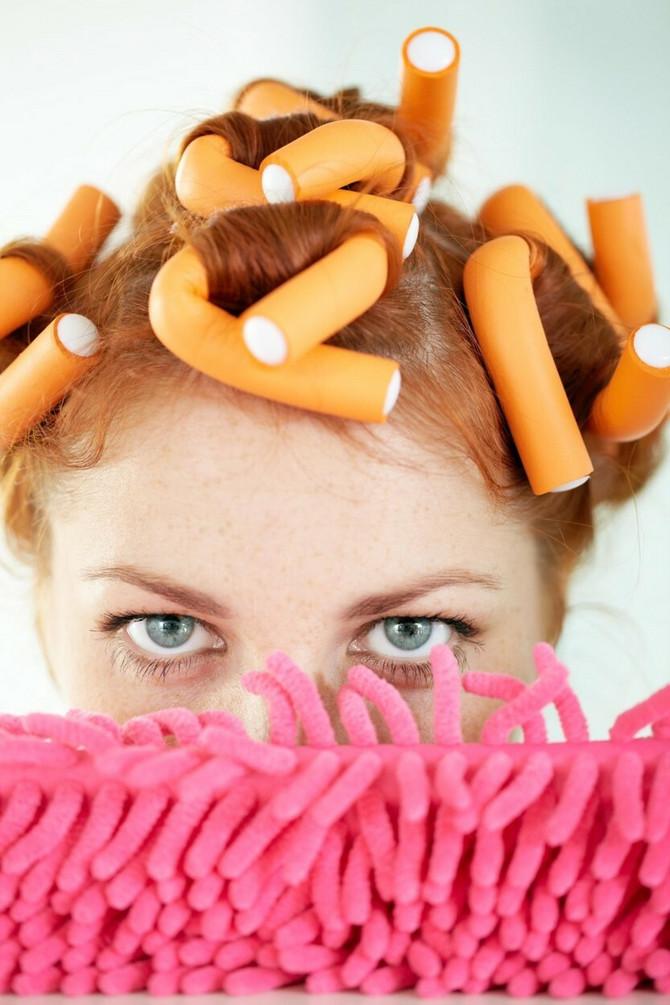 talase u kosi možete da napravite ovako, ali i uz pomoć platnenih trakica