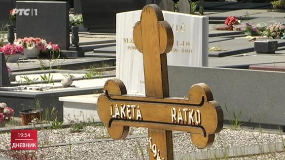 Grobno mesto oca Ratka