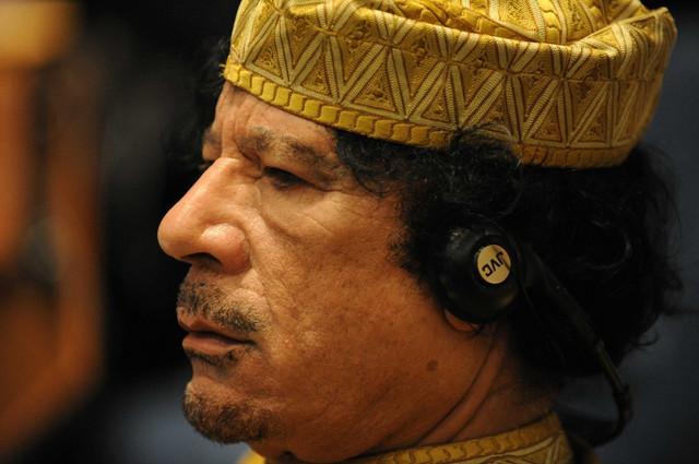 Moamer el Gadafi