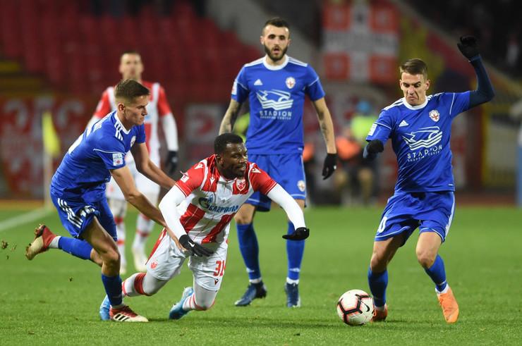 FK Crvena zvezda - FK Voždovac