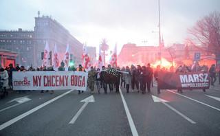 Obchody Święta Niepodległości: Policja analizuje materiały ws. ewentualnego złamania prawa