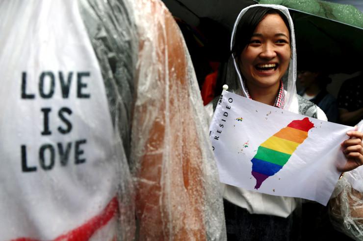 Tajvan gej brakovi istopolni EPA RITCHIE B. TONGO