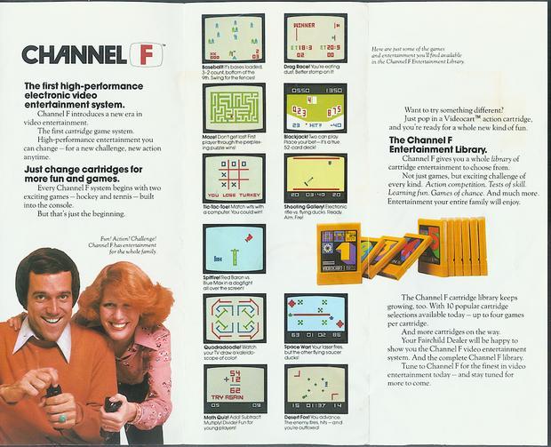 Channel F - jedna z reklam konsoli