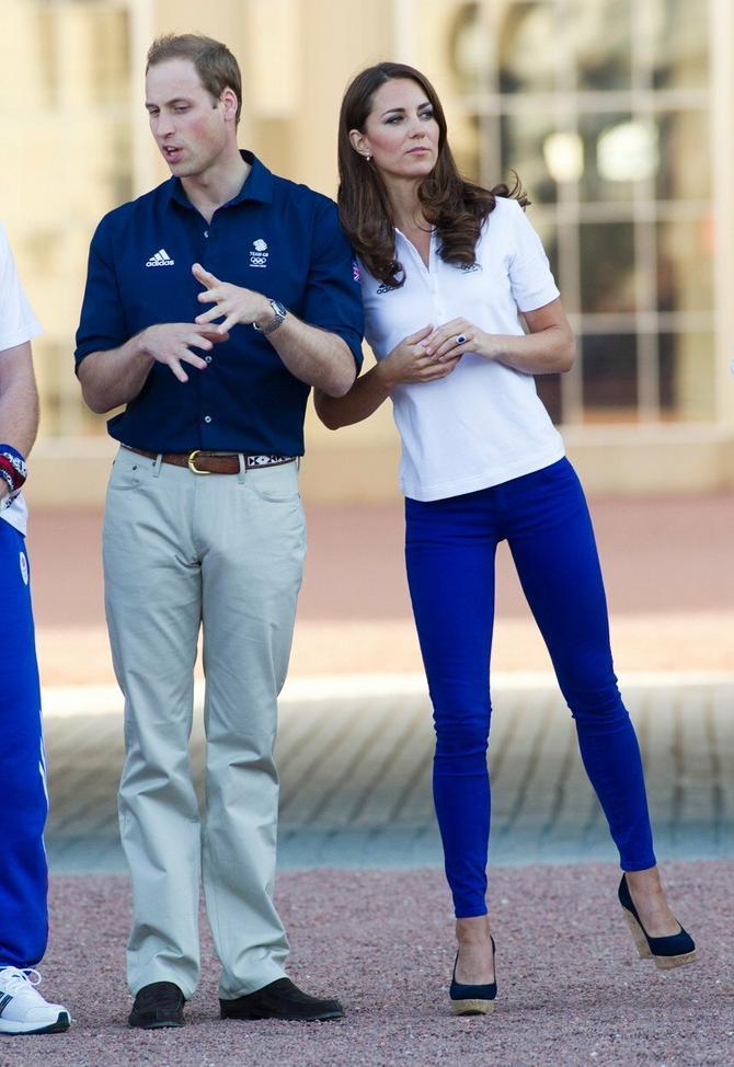 U početku je i Kejt nosila farmerke