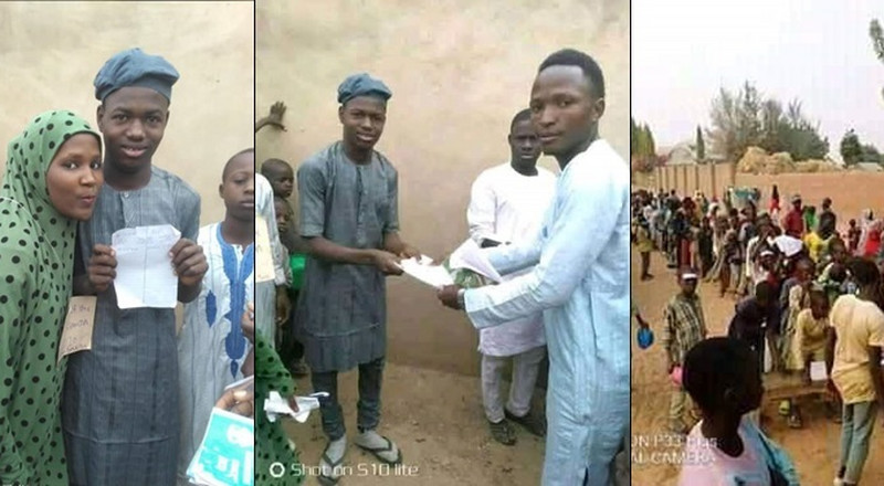 Village conducts election to help lady choose between 2 male suitors (Photos)
