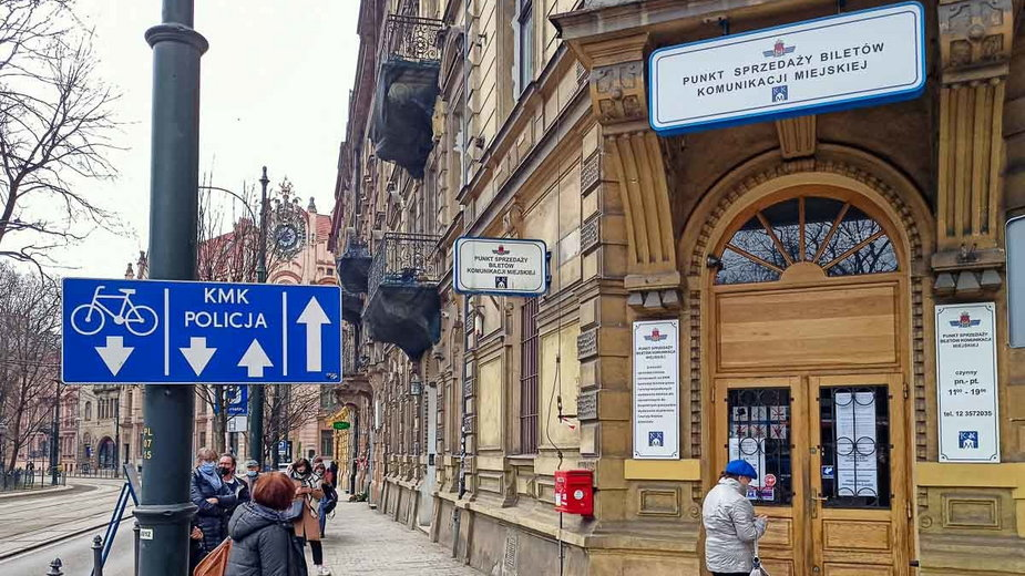 Punkt MPK na ulicy Podwale