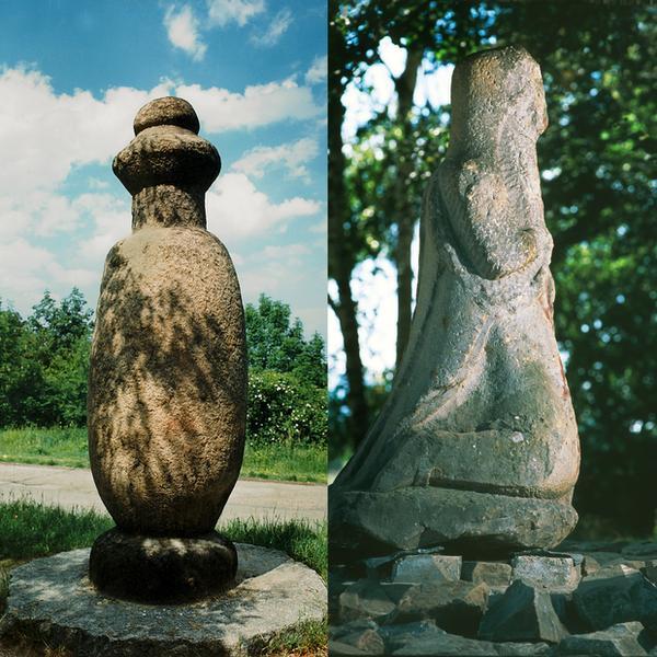 Kamienne rzeźby na Ślęży