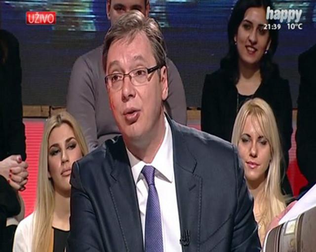 Aleksandar Vučić, TV Hepi
