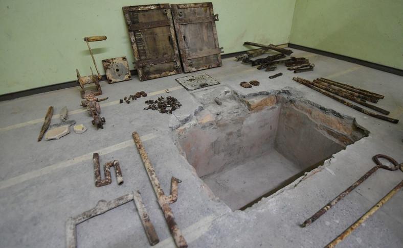 Przedmioty odnalezione w miejscu, gdzie była szubienica