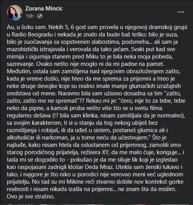 Zoranina objava