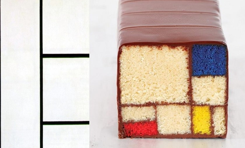 desery jak dzieła sztuki