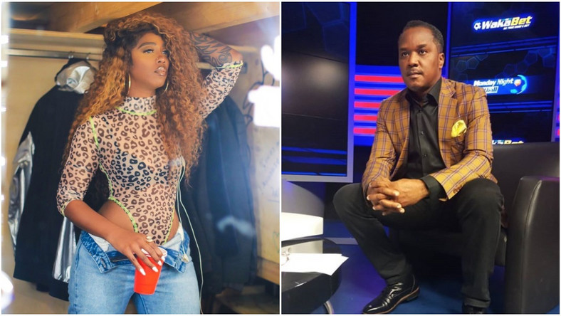 Image result for images of Tiwa Savage vs Charles Anazodo