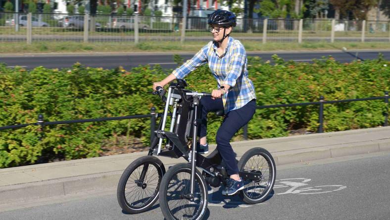 Rower ITS dla osób niepełnosprawnych