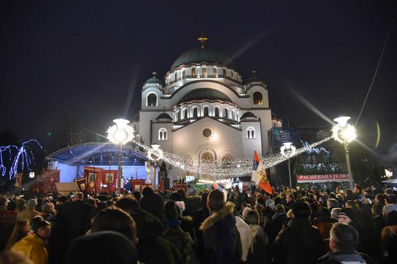 Moleban u Beogradu