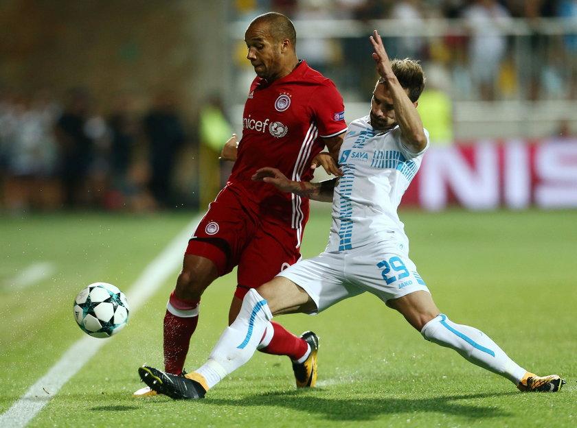Champions League Playoffs - HNK Rijeka v Olympiacos