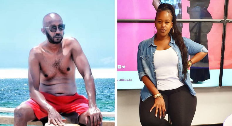 Andrew Kibe forced to apologize after girlfriend slapped Kamene Goro