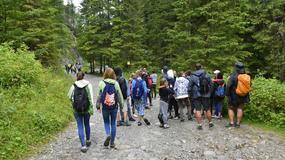 Poprawiają się warunki na górskich szlakach w Tatrach