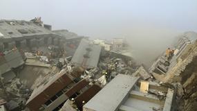 Trzęsienie ziemi o sile 6,4 w skali Richtera na Tajwanie