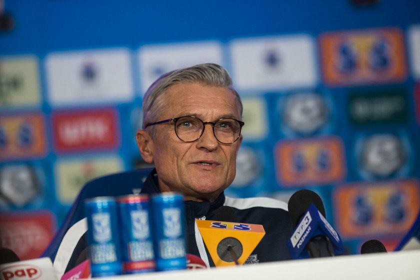 Lech Poznan - konferencja prasowa i prezentacja trenera Adama Nawalki
