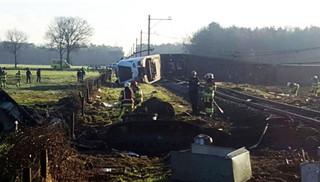 Holandia: Wypadek kolejowy w Dalfsen