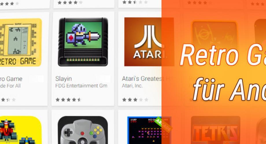 BestTipps: coole Retro Games für Android