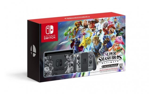 Nintendo Switch Super Smash Bros Limited Edition